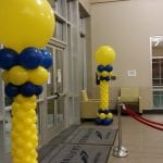 Balloon Columns for grand opening event