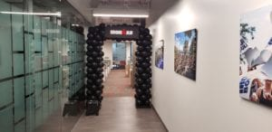 Iron Man Entrance Arch for corporate event