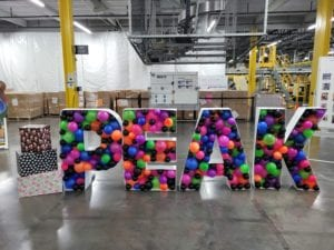 Peak balloon sculpture balloon marquee amazon Neon