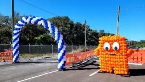 Peccy Balloon Sculpture corporate logo balloon decorations