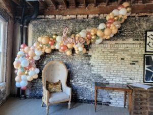 Oxford Exchange Balloon Decorations for Wedding Shower