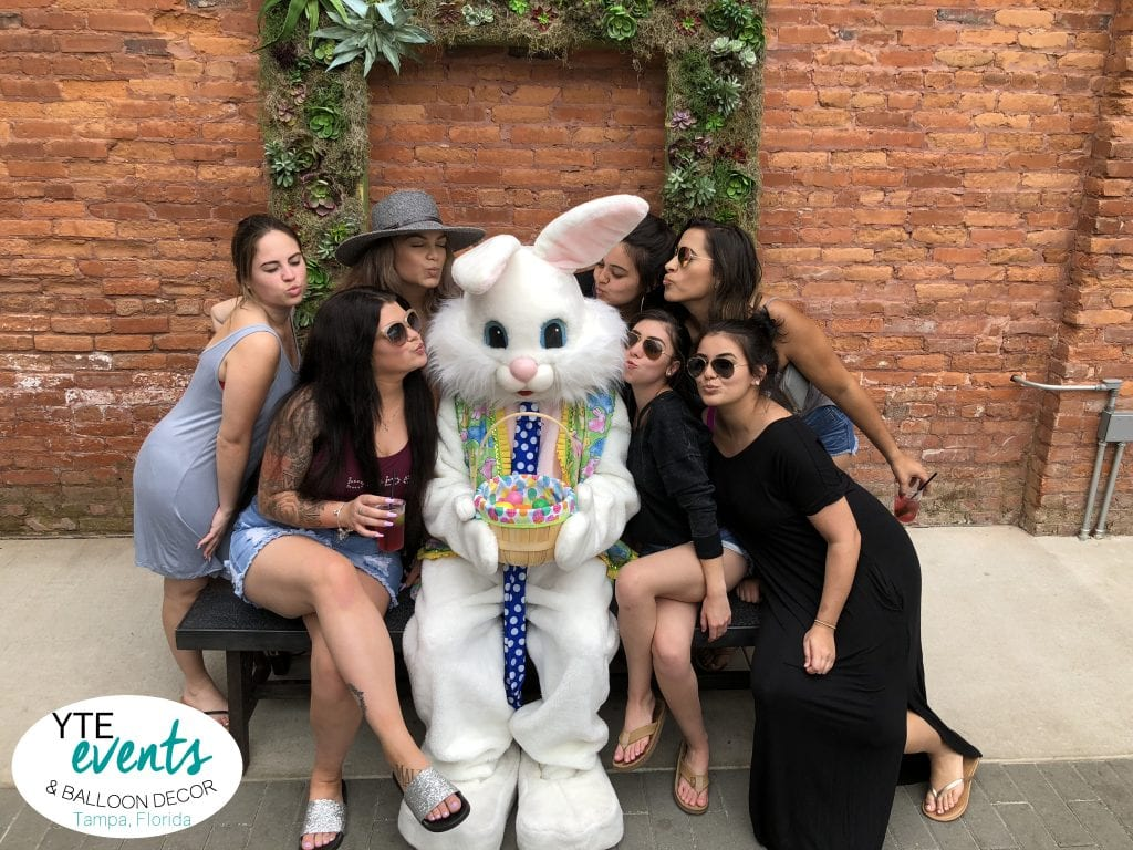 Armature Works Tampa Easter Bunny Kisses from the Ladies