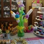 beautiful baby shower centerpiece table decor