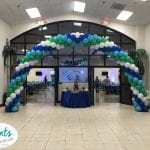 Baby Shower entrance arch at ICC Tampa