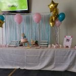 Balloon Bouquets for baby shower event at Museum in Tampa