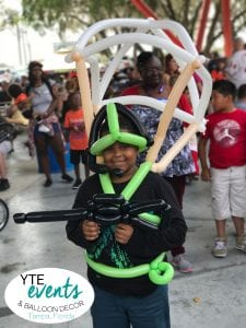 Balloon Costume from an event