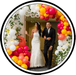 Balloon Decorations for wedding event icon
