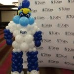 Tampa Bay Rays Mascot Balloon Sculpture