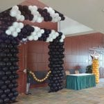Balloon Sculpture For Homecoming Event