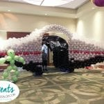 Balloon Space ship for homecoming event tunnel