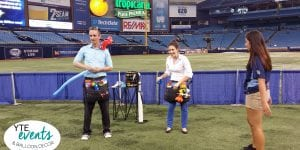 Balloon Twisters for Tampa Bay Rays Baseball games