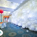 Balloon Wall Installation for wedding Event