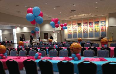Basketball mitzvah event