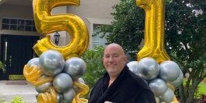 Birthday Balloon Delivery Tampa Yard Art Decor