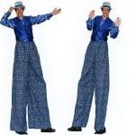Blueberry Stilt Walker for Fairs Festivals Sporting Events Blueberry fair