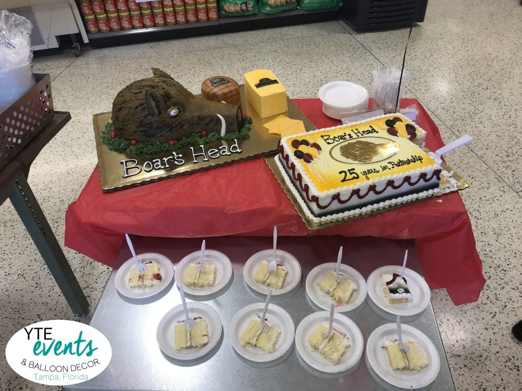 Boars head 25 years with publix event