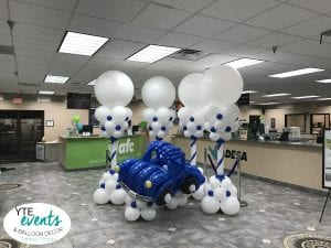 Car Balloon Sculpture delivery for car auction