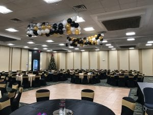 Balloon Drop at corporate event