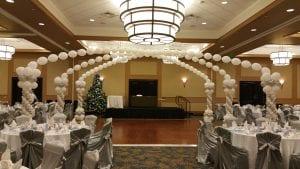 Wedding venue corporate decor