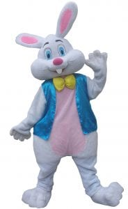 Costume character easter bunny