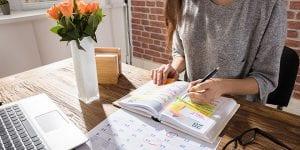 Event Planning Photo of Calendar