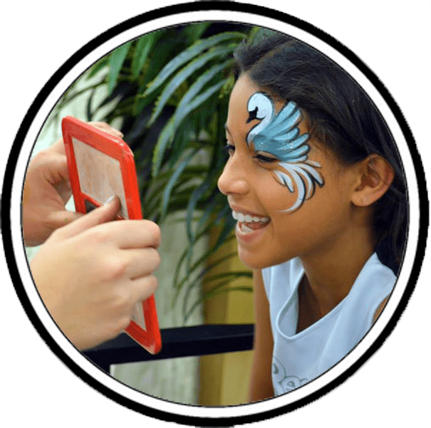 Face Painter Entertainment icon YTE Events and Balloon Decor