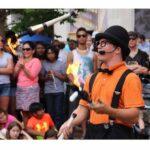 Fire Juggling Show Tampa Florida