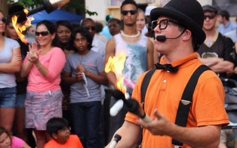 Fire Juggling Show