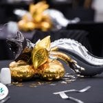 Foil Balloon Centerpieces for New Years