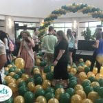 Following a balloon drop University of South Florida