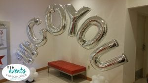 Go You Hashtag Macy's Event for Corporate Balloon Arch