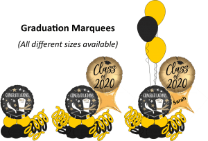 Graduation Marquees delivery pieces for graduation 2020 Tampa Florida