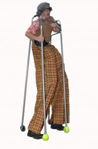Grandpa Stilt Walker Tampa Florida
