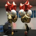 Happy Birthday Balloon Bouquets and Centerpieces