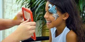 Hire a Face Painter for your birthday party