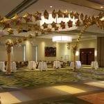 Hollywood dance floor decorations