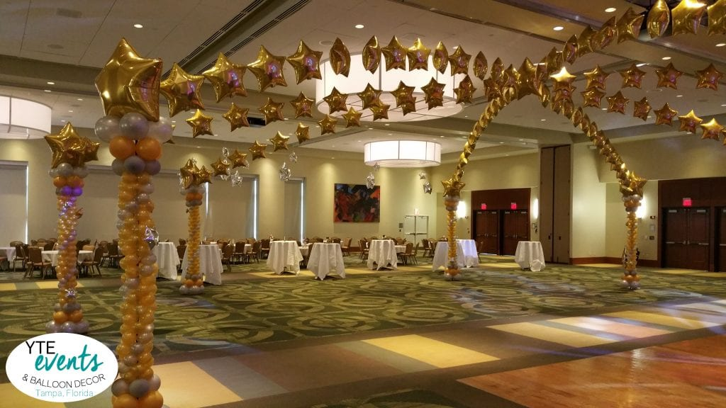 decor custom old decorations company table hollywood pin people decoration balloon celebration and