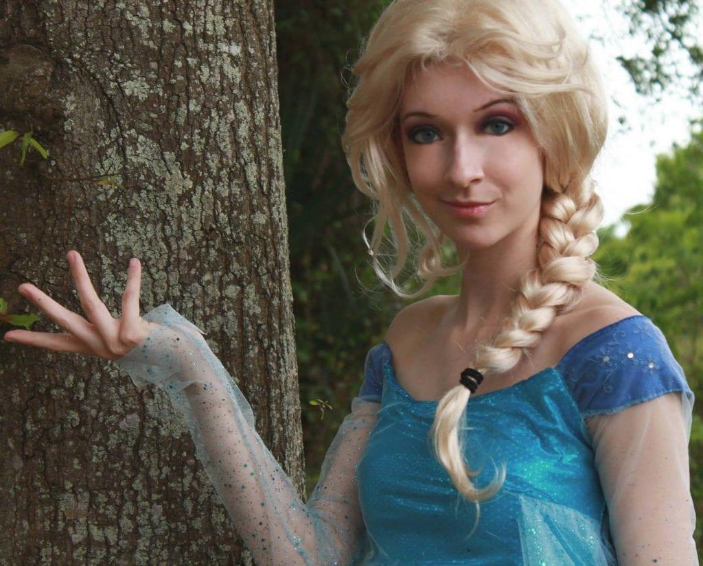 Ice Princess for birthday parties