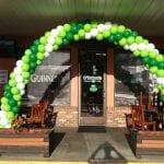 Irish balloon decor arch for pub and st patricks day