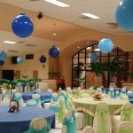 Balloon Decorations for Ceilings at Venues