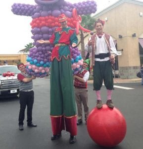 variety entertainment for parade