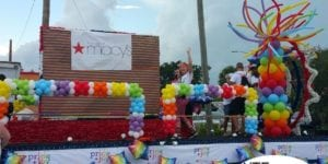 Macys Pride Parade Balloon Float Decorations for St Pete Pride Parade