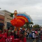 Macys parade turkey balloon sculpture