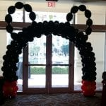 Mickey Mouse Balloon Arch Doorway