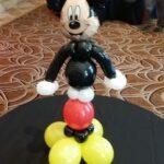 Mickey Mouse sculpture centerpiece