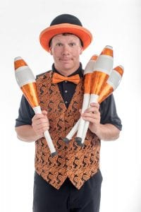 Variety Juggler and Entertainer for Events