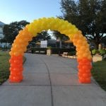 Arch balloon for event