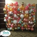 Organic Balloon Wall photo opp for event