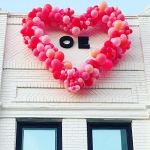 Valentines Day Heart for OE in Tampa