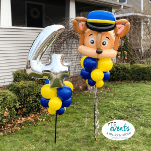 Paw Patrol Delivery Yard Art Birthday